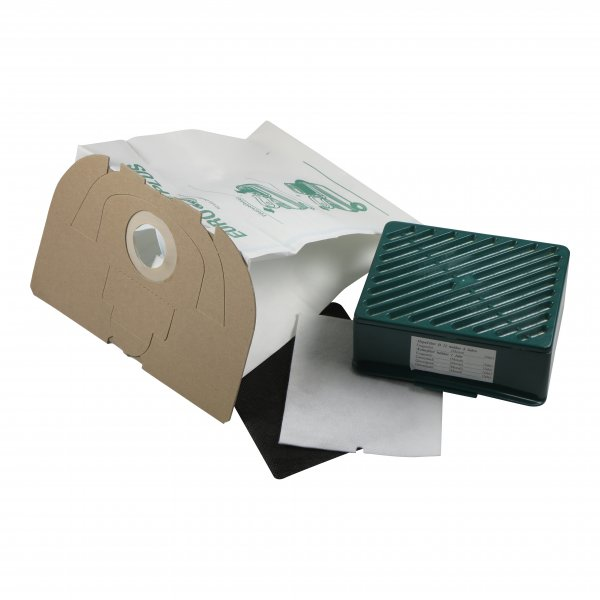 Sparset geeignet für Vorwerk Tiger 251 252 - 10 Staubbeutel + 1 Aktivfiltersystem / Hepafilter
