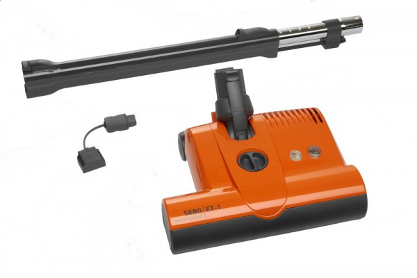 SEBO Elektrobürste ET 1 für Sebo K3 Vulcano mit Rohr und Stromadapter