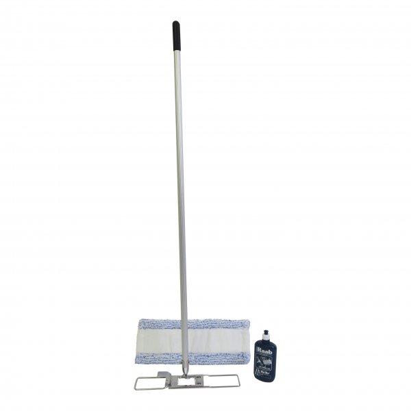 Komplettset - Hara Ha-Ra Bodenexpress 30 cm - Halter + teilbarer Stiel + Mach6 + Pflegemittel