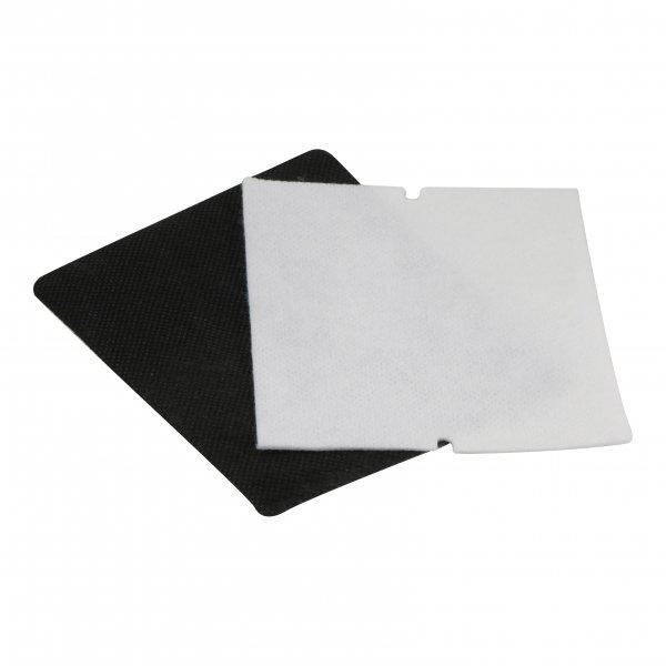 5 Hygienefeinfilter geeignet für Vorwerk Tiger 250 + 251 - Ersatzfilterplatte schwarz-weiß