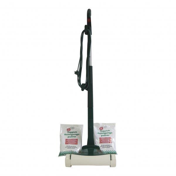 Der Beste - Komplettangebot: Vorwerk Teppichfrischer 733 + Stiel + 1 kg Pulver geeignet für Vorwerk