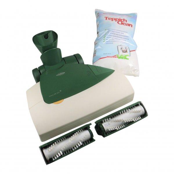 Vorwerk Kobold EB 351 F Elektrobürste incl. Frischerkit + Pulver incl. Bürsten geeignet für Vorwerk