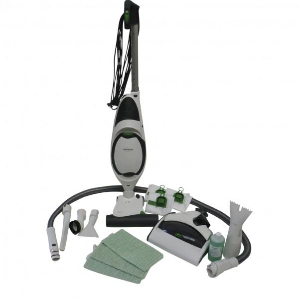 Vorwerk Kobold 150 + Saugwischer 530 + EB 370 + Schlauch + Düsen geeignet für Vorwerk