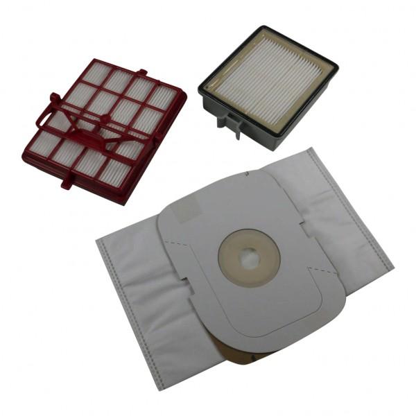 Sparset geeignet für LUX intelligence - Staubsaugerbeutel + HEPA Filter + Aktivkohlefilter