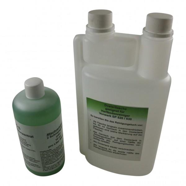 Dosierflasche + Wischpflege geeignet für Vorwerk SP 520 530