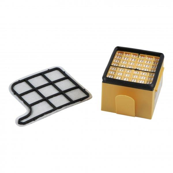 Filterset geeignet für Vorwerk Kobold 135 + 136 - Mikro-/Hepafilter + Motorschutzfilter