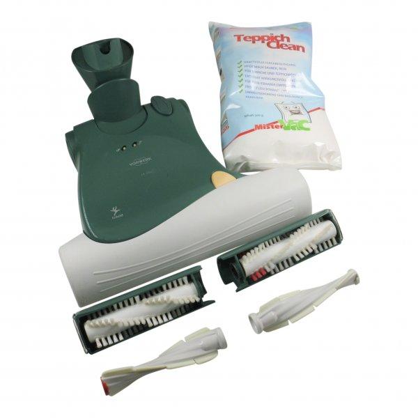Vorwerk Kobold EB 360 Elektrobürste + Frischerkit + Pulver + Matratzenbürsten geeignet für Vorwerk
