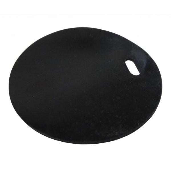 Gummi - Rückschlagklappe geeignet für fast alle Vorwerk Filterkassetten (schwarz)