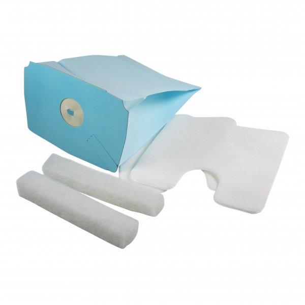 10 Staubsaugerbeutel + 2 Mikrofilter + 2 Motorschutzfilter geeignet für Electrolux Lux D748 - D795