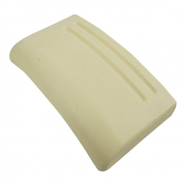 Verschlussklappe geeignet für Vorwerk Filterkassette Kobold 122 gelb