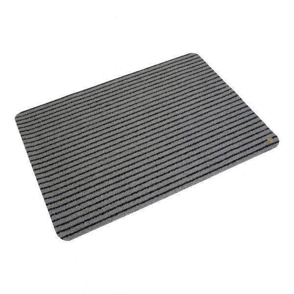 Hara Ha-Ra Fußmatte Soft premium (90x65 cm) schwarz/eisgrau