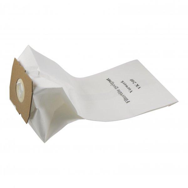 10 Staubbeutel geeignet für Vorwerk VK 240 Staubsaugerbeutel Filtertüten