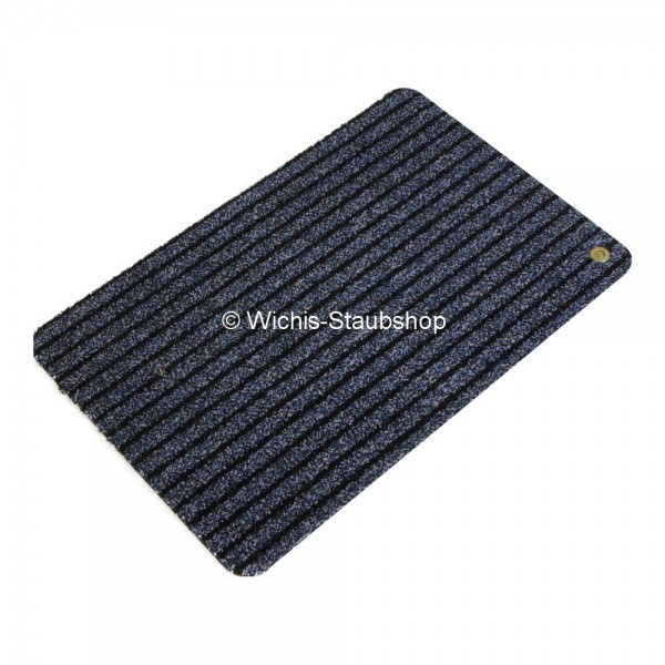 Hara Ha-Ra Fußmatte Soft premium (60x40 cm) schwarz/blau
