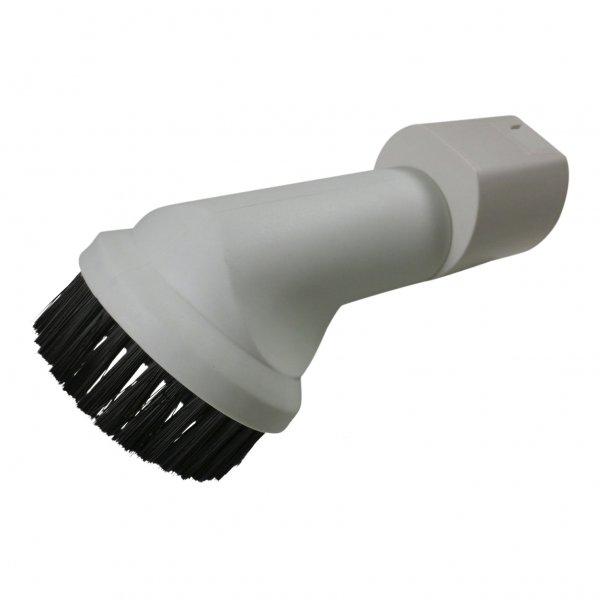 Möbelpinsel - Ovalanschluß geeignet für Vorwerk Kobold 130 - 200 und Tiger 252 - 300 weiß