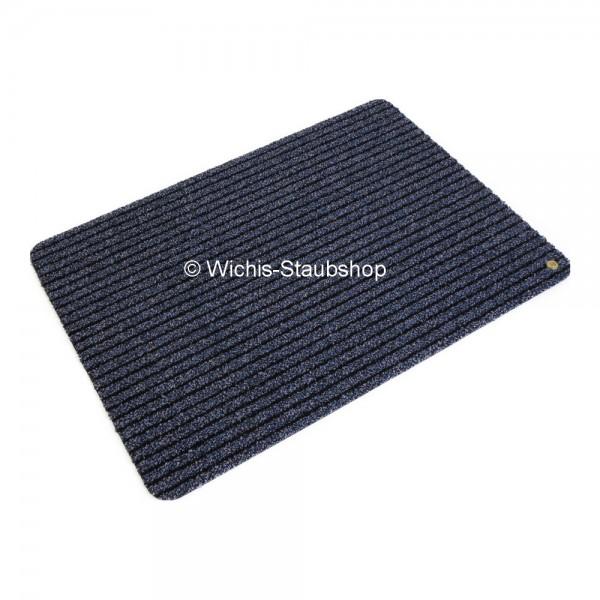 Hara Ha-Ra Fußmatte Soft premium (90x65 cm) schwar/blau