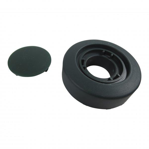 Rad / Rollen + Radkappe geeignet für Vorwerk EB 350 + 351 (keine Felge)