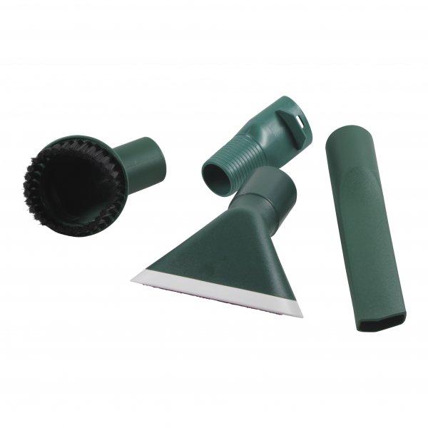 4-teiliges Düsenset geeignet für Vorwerk Kobold 130 - 150 und Tiger 252 - 270 - Ovalanschluß