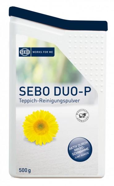 SEBO duo-P Clean Box mit Bürste