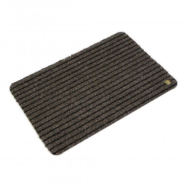 Hara Ha-Ra Fußmatte Soft premium (60x40 cm) schwarz/braun