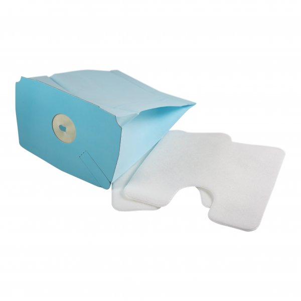 10 Staubsaugerbeutel + 2 Mikrofilter geeignet für Electrolux Lux D748 - D795