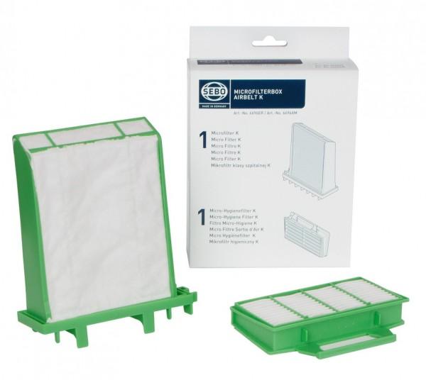 SEBO Microfilter- Box für air belt K