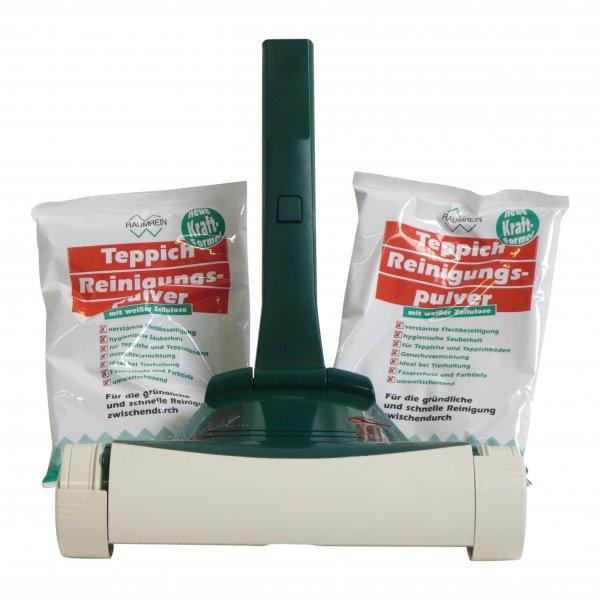 Vorwerk Teppichfrischer 733 + 1kg Pulver geeignet für Vorwerk
