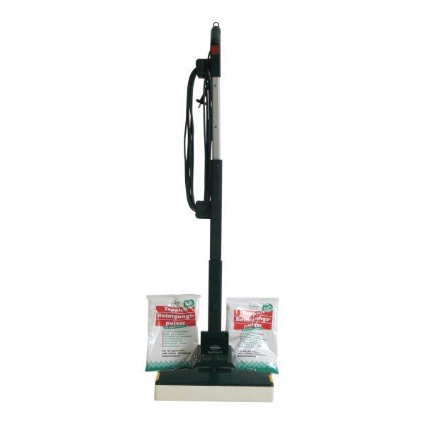 Komplettangebot: Vorwerk Teppichfrischer 732 + Stiel + 1 kg Pulver geeignet für Vorwerk