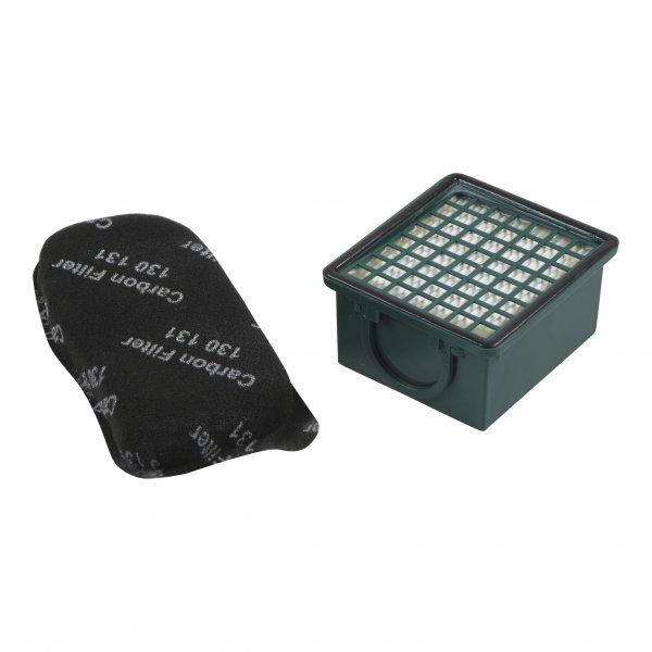 Filterset geeignet für Vorwerk Kobold 130 + 131 - Mikro-/Hepafilter + Motorschutzfilter